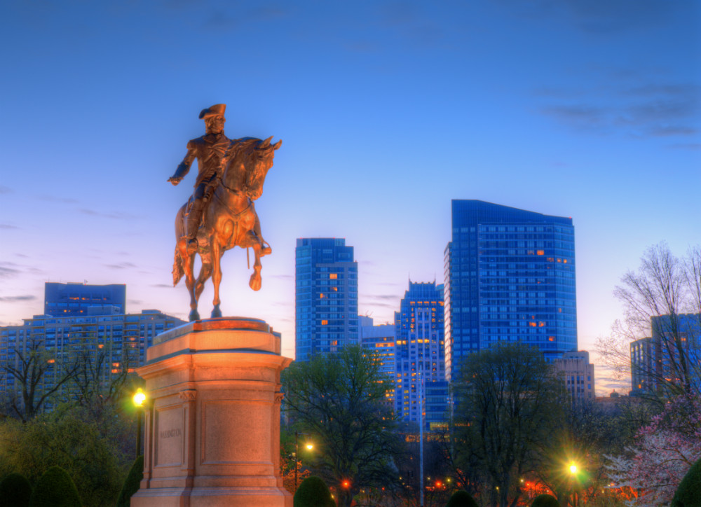 George Washington Equestrian Statue